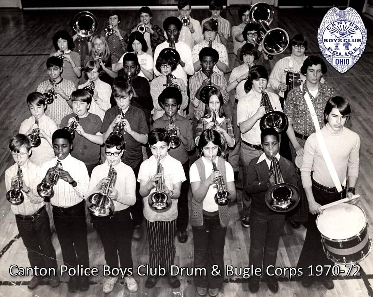 Canton Police Boys Club Drum and Bugle Corps